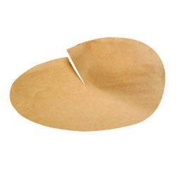 PacknWood Paper Kraft Greaseproof Cone Sheet 15 in 210PAPC38