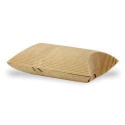 PacknWood Paper Kraft Hot Pillow Box 5.1 in x 5.7 in x 2.2 in 210ETCROQ1