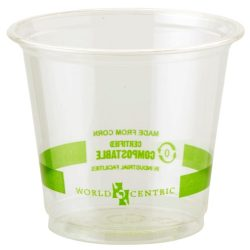 World Centric Clear Cold Cup 6 oz CP-CS-6