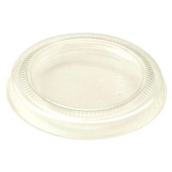 World Centric LID PLA Clear Flat Cold Cup 2-3 oz CPL-CS-2S