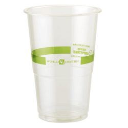 World Centric PLA Clear Cold Cup 9 oz CP-CS-9