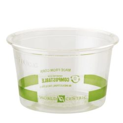 World Centric PLA Clear Portion Cup 4 oz CP-CS-4S