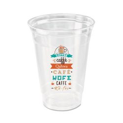 Custom Printed Compostable PLA Plastic Cup 9 oz