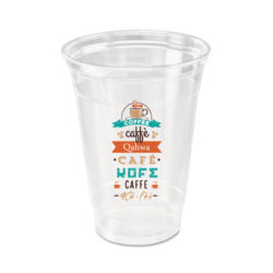 Custom Printed Compostable PLA Plastic Cup 16 oz